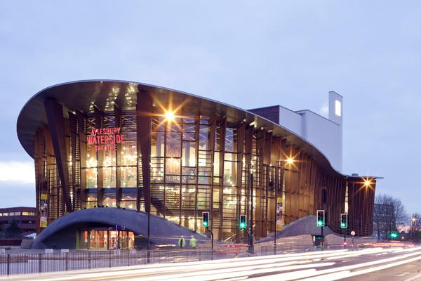 Aylesbury Waterside Theatre manhole cover case study