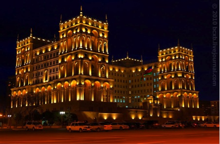 Presidential Palace of Azerbaijan manhole covers