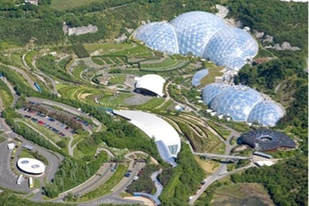 the eden project - manhole covers