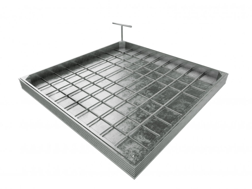 The Elite Range of Aluminium Recessed Access Covers from Manhole Covers