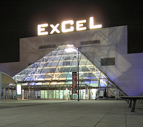 ExCel London: The London ExCel Exhibition Centre access covers