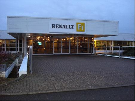 Renault Formula 1 Technical Centre manhoel cover